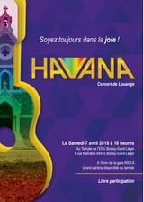 Concert du groupe Havana