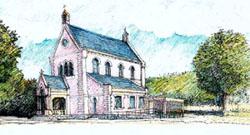 Dessin du temple de Boissy